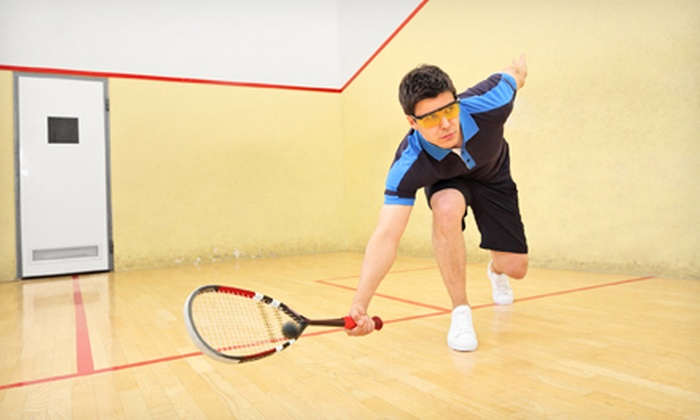 Chevy Chase Athletic Club - Chevy Chase: One or Three Months of Squash-Court and Gym Access at Chevy Chase Athletic Club (Up to 63% Off)