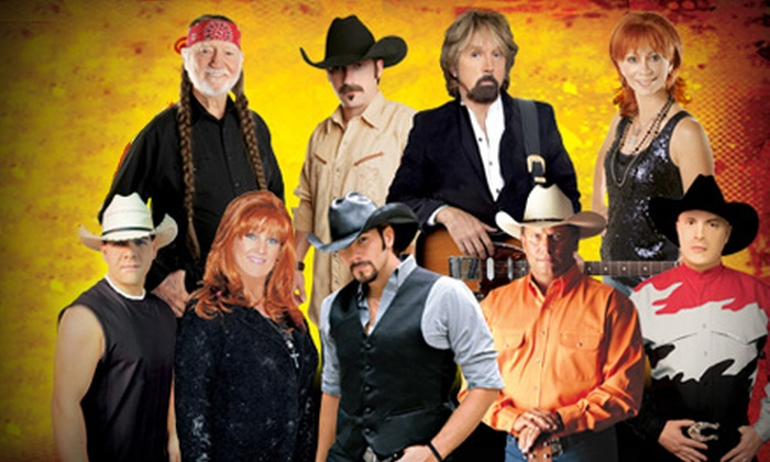 Country Superstars Tribute - Downtown: $29 for One Premium-Seating Ticket to the Country Superstars Tribute at the Golden Nugget Hotel and Casino ($58.95 Value)