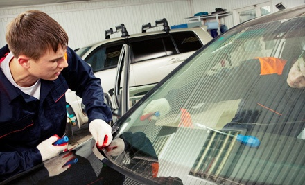 Up to Three Mobile Windshield-Chip Repairs - Abstract Auto Glass in