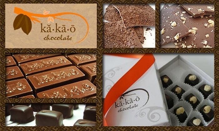 Kakao Chocolate - Fox Park: $10 for $20 Worth of Chocolates and Confections at Kakao Chocolate