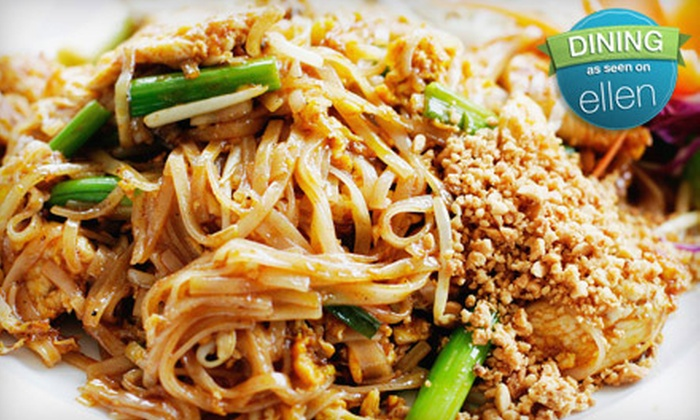 Bangkok Cuisine - Multiple Locations: $10 for $20 Worth of Thai Fare at Bangkok Cuisine. Two Locations Available.