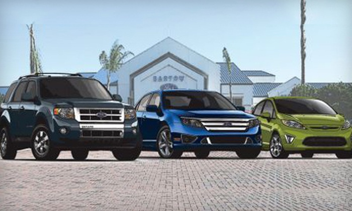 Bartow Ford - Bartow Ford: $24 for an Oil Change, Tire Rotation, and Car Wash at Bartow Ford (Up to $60.90 Value)