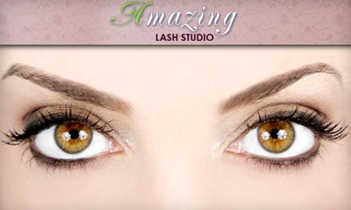 Amazing Lash Studio - University Place: $79 for Eyelash Extensions (Up to $250 Value) or $7 for Eyebrow Wax ($20 Value) at Amazing Lash Studio