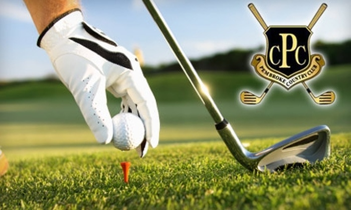 Pembroke Country Club - Pembroke: $35 for 18 Holes and a Cart at Pembroke Country Club