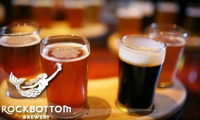 Rock Bottom Brewery - Downtown Halifax: $10 for $20 Worth of Brewpub Fare and Microbrews at Rockbottom Brewery