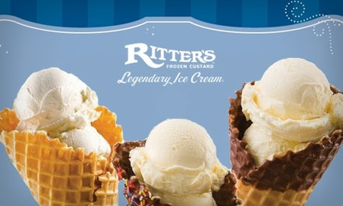 Ritter's Frozen Custard - Tarpon Springs: $5 for $10 Worth of Frozen Treats at Ritter's Frozen Custard