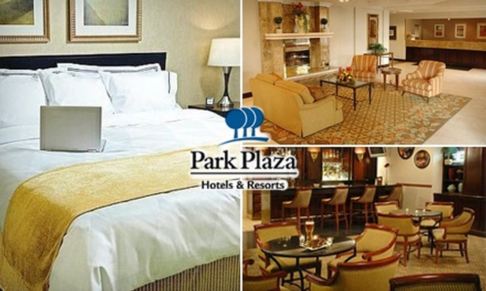 Park Plaza Hotel - Edina: $171 for a Weekend Package for 5/21 & 5/22 at Park Plaza Hotel Bloomington