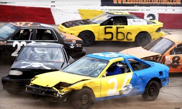 Rockford Speedway - Rockford: $20 for Four Tickets to the WXRX 104.9FM Stone & Double T 200-Lap Enduro Race ($40 Value) at Rockford Speedway
