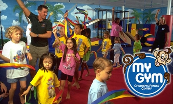 My Gym Children's Fitness Center - Multiple Locations: $40 for One-Month's Tuition and Lifetime Membership Fee at My Gym Children's Fitness Center