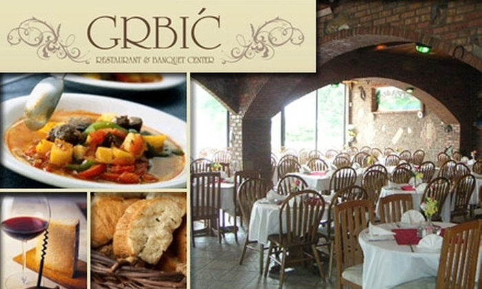 Grbic Restaurant - St Louis: $15 for $35 Worth of Bosnian and Eastern European Cuisine at Grbic Restaurant