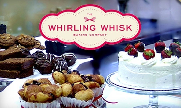 The Whirling Whisk Baking Company - Downtown Mooresville: $7 for $14 Worth of Gourmet Desserts at The Whirling Whisk Baking Company in Mooresville