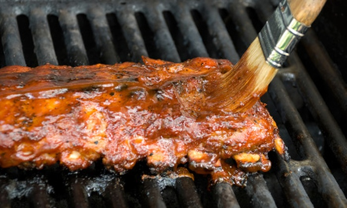 Backfire BBQ - I-435 West Kc-ks: $15 for $30 Worth of Barbecue Fare at Backfire BBQ