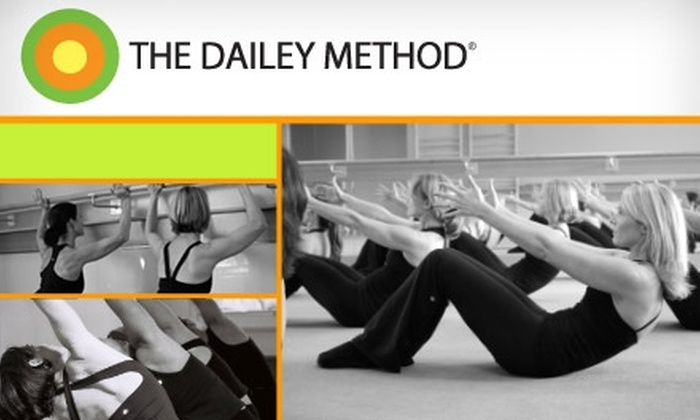 The Dailey Method - Multiple Locations: $20 for Two Fitness Classes at The Dailey Method