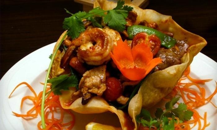 Aiyara Thai Restaurant - Leesburg: $20 for $40 Worth of Thai Cuisine at Aiyara Thai Restaurant in Leesburg