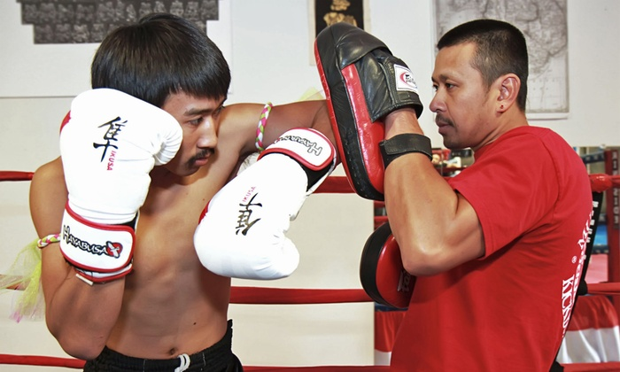Muay Thai Lao Kickboxing Academy - Arden - Arcade: 5 or 10 Kickboxing Classes at Muay Thai Lao Kickboxing Academy (Up to 85% Off)