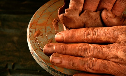 Introductory Pottery Class for 1 (a $60 value) - Aud Pottery Studio in Knoxville