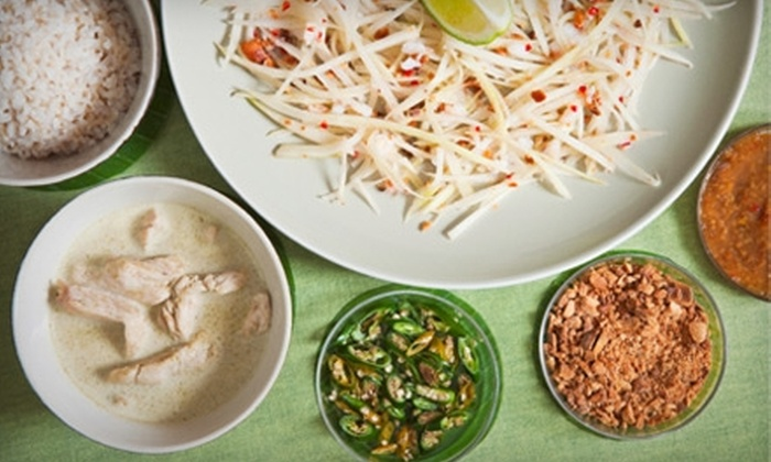 Lao Village - Downtown: $10 for $20 Worth of Southeast Asian Cuisine at Lao Village