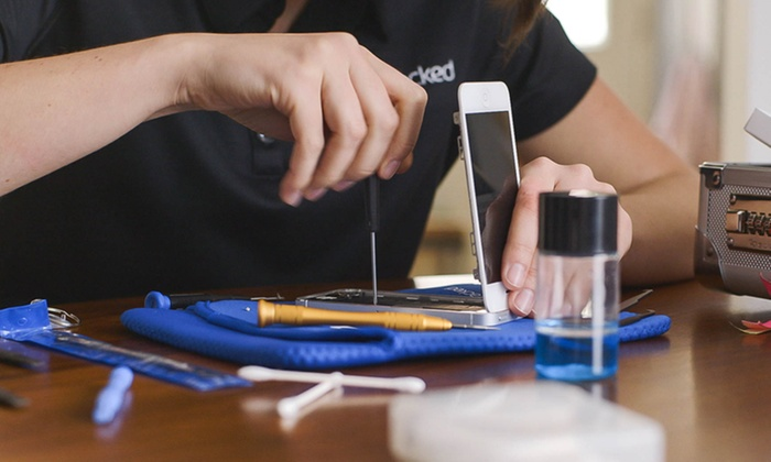 iCracked - Raleigh / Durham: On-Location iPhone Screen Repair with Screen Protector and Warranty from iCracked (Up to 27% Off). Two Options.
