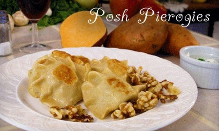Posh Pierogies - Lake: $5 for $10 Worth of Pierogies and More at Posh Pierogies in Hartville