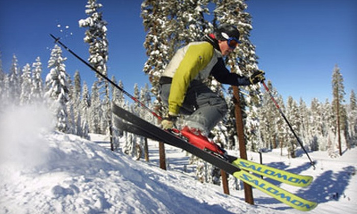Badger Pass Ski Area - Wawona: $42 for Skiing for Two at Badger Pass Ski Area in Yosemite National Park (Up to $84 Value)