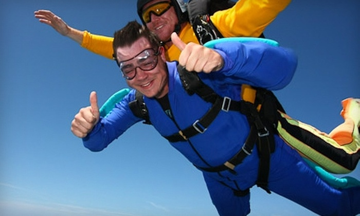 Skydive Greensburg - Clay: $129 for Tandem Jump at Skydive Greensburg ($269 Value)