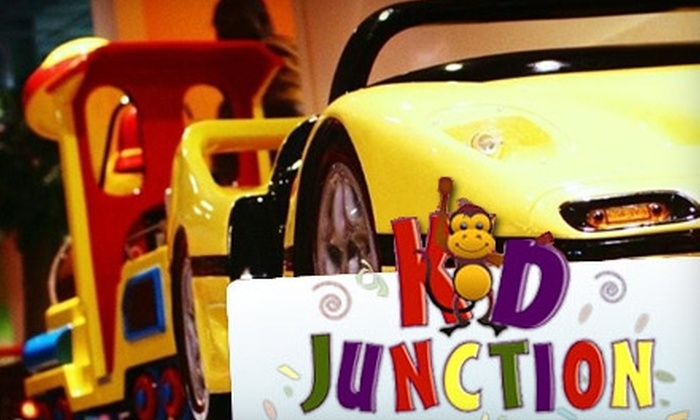 Kid Junction - Central Jersey: $5 for Admission and Tokens at Kid Junction (Up to $11.95 Value). Choose From Two Locations.