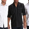 Agile Collection Men's Casual Button-Up Shirts