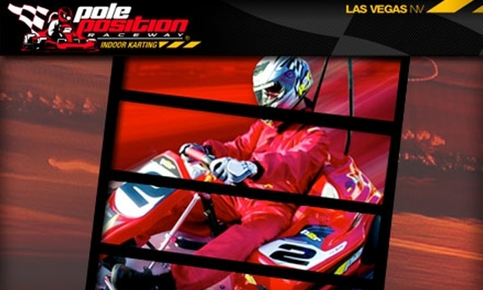 Pole Position Raceway - Central Oklahoma City: $40 for Two Adult Races at Pole Position Raceway