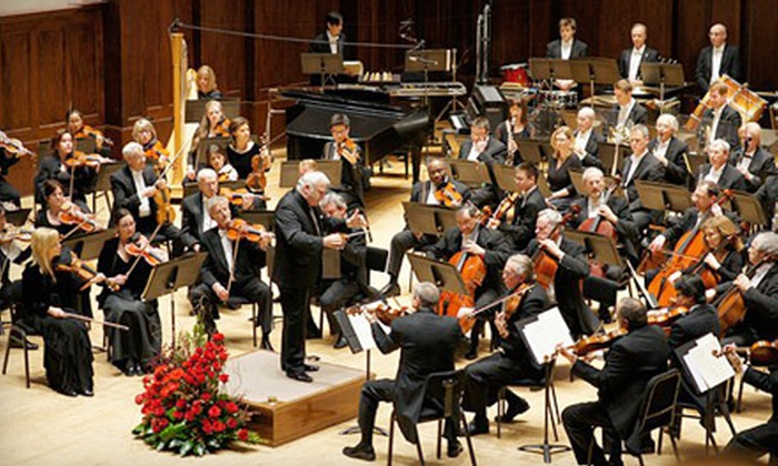 Detroit Symphony Orchestra - University: One or Two Tickets to the Detroit Symphony Orchestra at Orchestra Hall (Up to 65% Off). 12 Options Available.