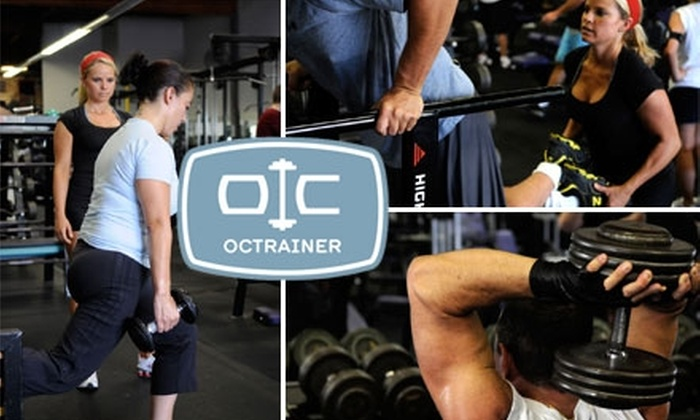 OC Trainer - Costa Mesa: $25 for Three Semi-Private Training Sessions at OC Trainer