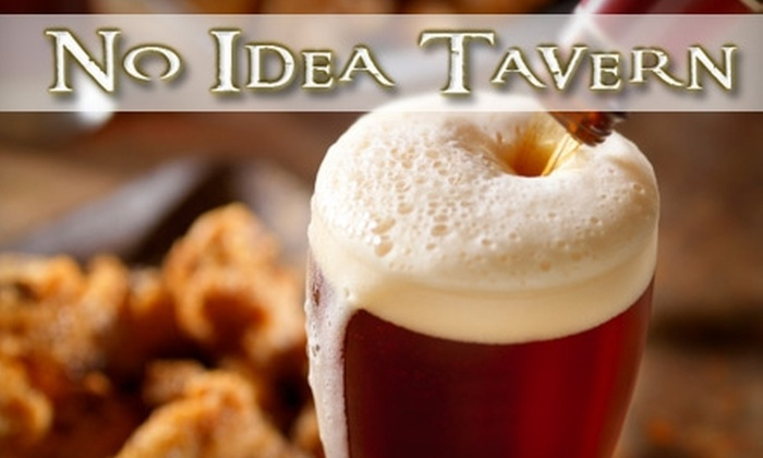 No Idea Tavern - SBIC/ West Federal Hill: $10 for $20 Worth of Beer, Wine, and More at No Idea Tavern in Federal Hill