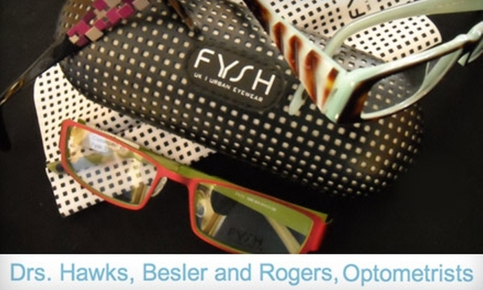 Drs. Hawks, Besler and Rogers, Optometrists - Multiple Locations: $25 for $150 Toward Frames and Lenses at Drs. Hawks, Besler and Rogers, Optometrists in Gardner or Overland Park