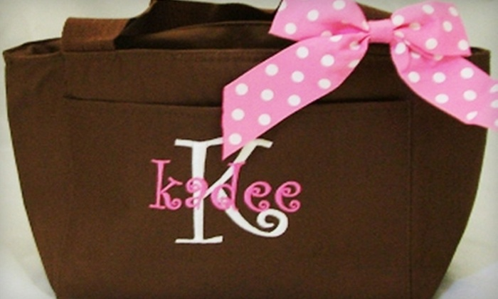 Monogrammed Gifts: $10 for $20 Worth of Customized Totes, Purses, and Accessories from Monogrammed Gifts