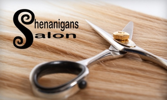 Shenanigans Salon - Athens, GA: $30 for a Women's or Men's Haircut and Deep-Conditioning Treatment at Shenanigans Salon (Up to $60 Value)