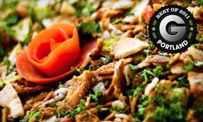 Al amir lebanese restaurant in portland oregon groupon for Al amir lebanese cuisine