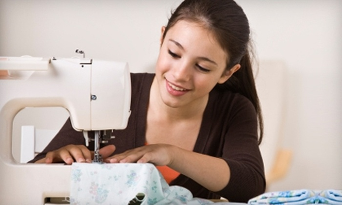 The Sewing Parlour - Rio Grande: $89 for a Five-Class Beginning Sewing Series ($195 Value) or $22 for One Beginning Sewing Class ($50 Value) at The Sewing Parlour