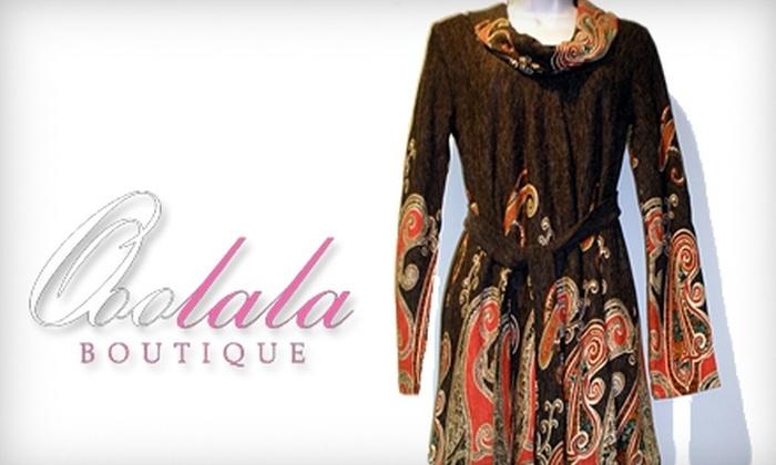 Ooo La La Boutique - East Aurora: $20 for $50 Worth of Apparel and Accessories at Ooo La La Boutique in East Aurora