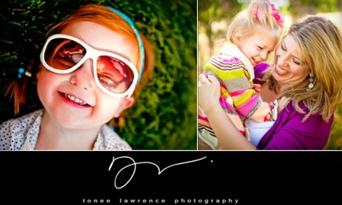 Tonee Lawrence Photography - Little Rock: $69 for a Photo Session and Four Prints or Digital Files from Tonee Lawrence Photography (Up to $775 Value)