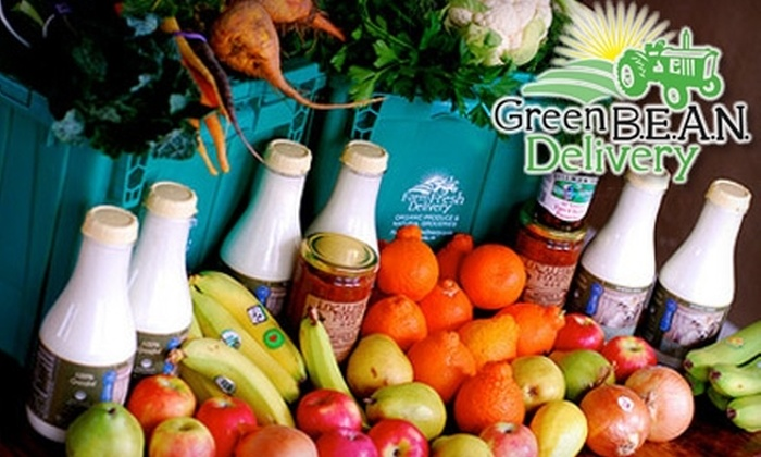 Green B.E.A.N. Delivery: $15 for $35 Worth of Organic Produce and Natural Groceries From Green B.E.A.N. Delivery