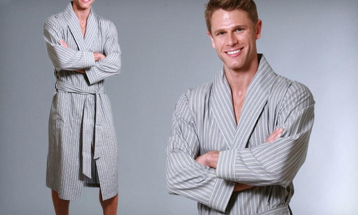 Knothe Lux Unisex Robes: $39 for a Knothe Lux Unisex Robe ($125 List Price). Multiple Options Available. Free Shipping.
