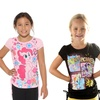 My Little Pony Kid's 100% Cotton T-Shirt with Side Ties