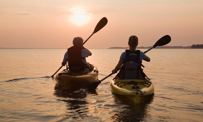 Great Marsh Kayak Tours - West Yarmouth: One-Week Kayak Rental or Naturalists Dream Kayak Tour for Two or Four from Great Marsh Kayak Tours (49% Off)