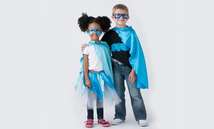 Custom Superhero Capes and Outfits or Custom Tutu at SuperflyKids (Up to 55% Off). Three Options Available.