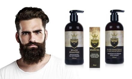 Shampoo, crème of vochtinbrengende olie voor baard en gezicht van By My Beard