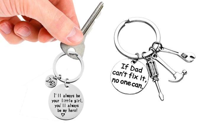 Dad Keychain Keyring