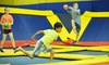 Sky High Sports - Charlotte - Sterling: Trampoline Jump Time at Sky High Sports - Charlotte (Up to 50% Off). Two Options Available.