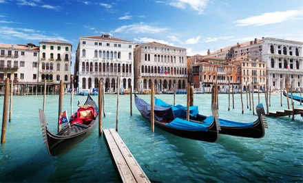 groupon daily deal - 7-Day Italy Vacation with Airfare and Hotels from go-today. Price/Person Based on Double Occupancy.