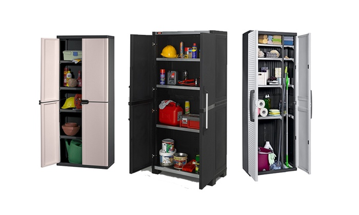 Keter Indoor Storage Cabinet | Groupon Goods