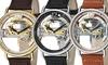 Stuhrling Original Men's Skeleton Bridge Automatic Watch: Stuhrling Original Men's Skeleton Bridge Automatic Watches