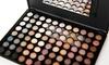 Beauté Basics Eye-Shadow Palette: Beauté Basics Warm 88-Color Eye-Shadow Palette with Dual-End Foam Applicator